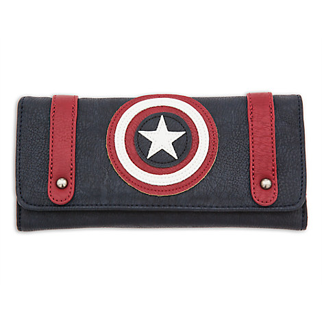 Captain America Wallet by Loungefly