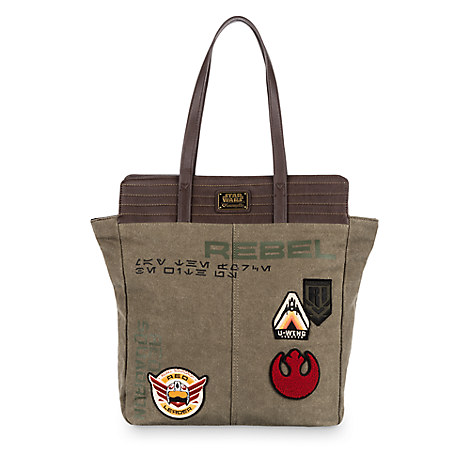 Rogue One: A Star Wars Story Canvas Tote Bag by Loungefly