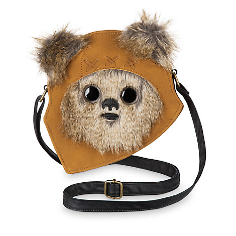 Ewok Crossbody Bag by Loungefly