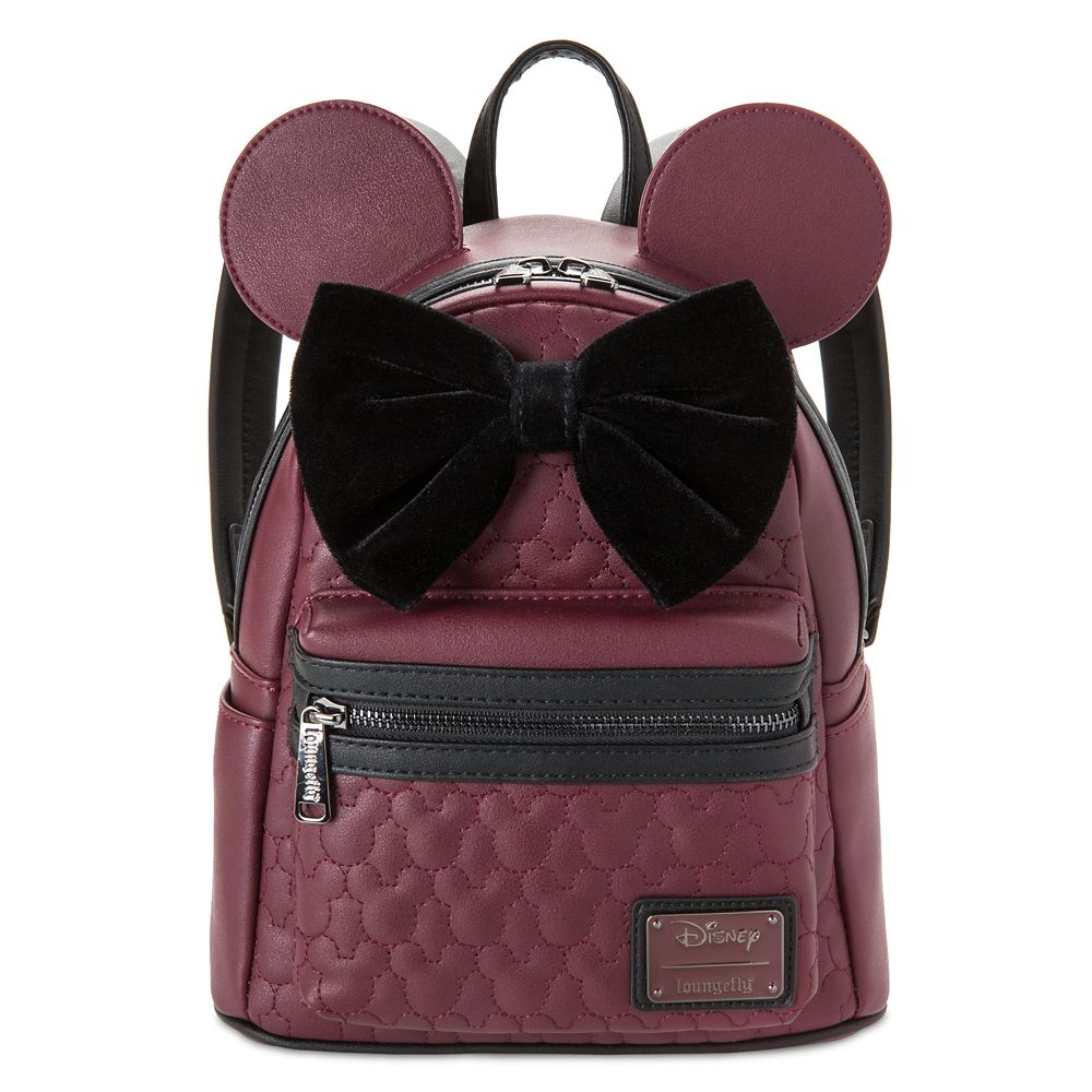 Minnie Mouse Quilted Mini Backpack by Loungefly