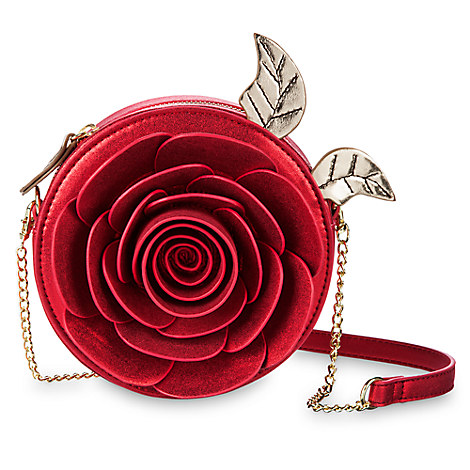 Beauty and the Beast Enchanted Rose Crossbody Bag by Danielle Nicole