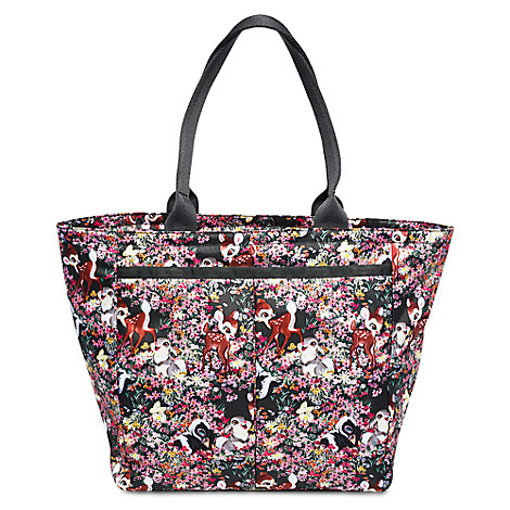 Bambi and Friends Tote Bag by LeSportsac