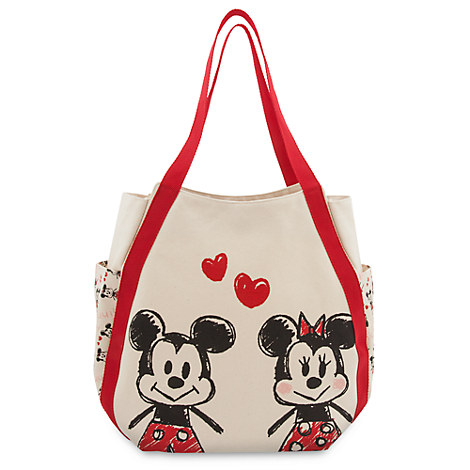 Mickey and Minnie Mouse Tote Bag