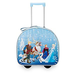 Frozen Light-Up Rolling Luggage