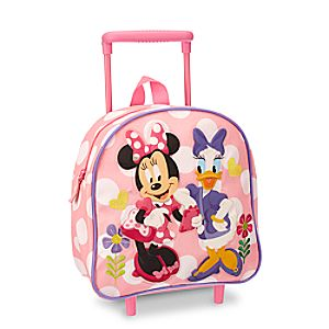 Minnie Mouse and Daisy Duck Rolling Luggage - Personalizable