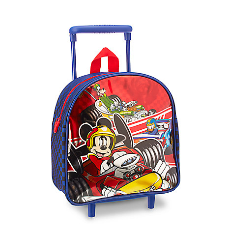 Mickey and the Roadster Racers Small Rolling Bag - Personalizable