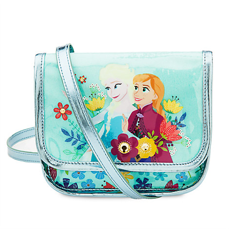 Anna and Elsa Crossbody Bag