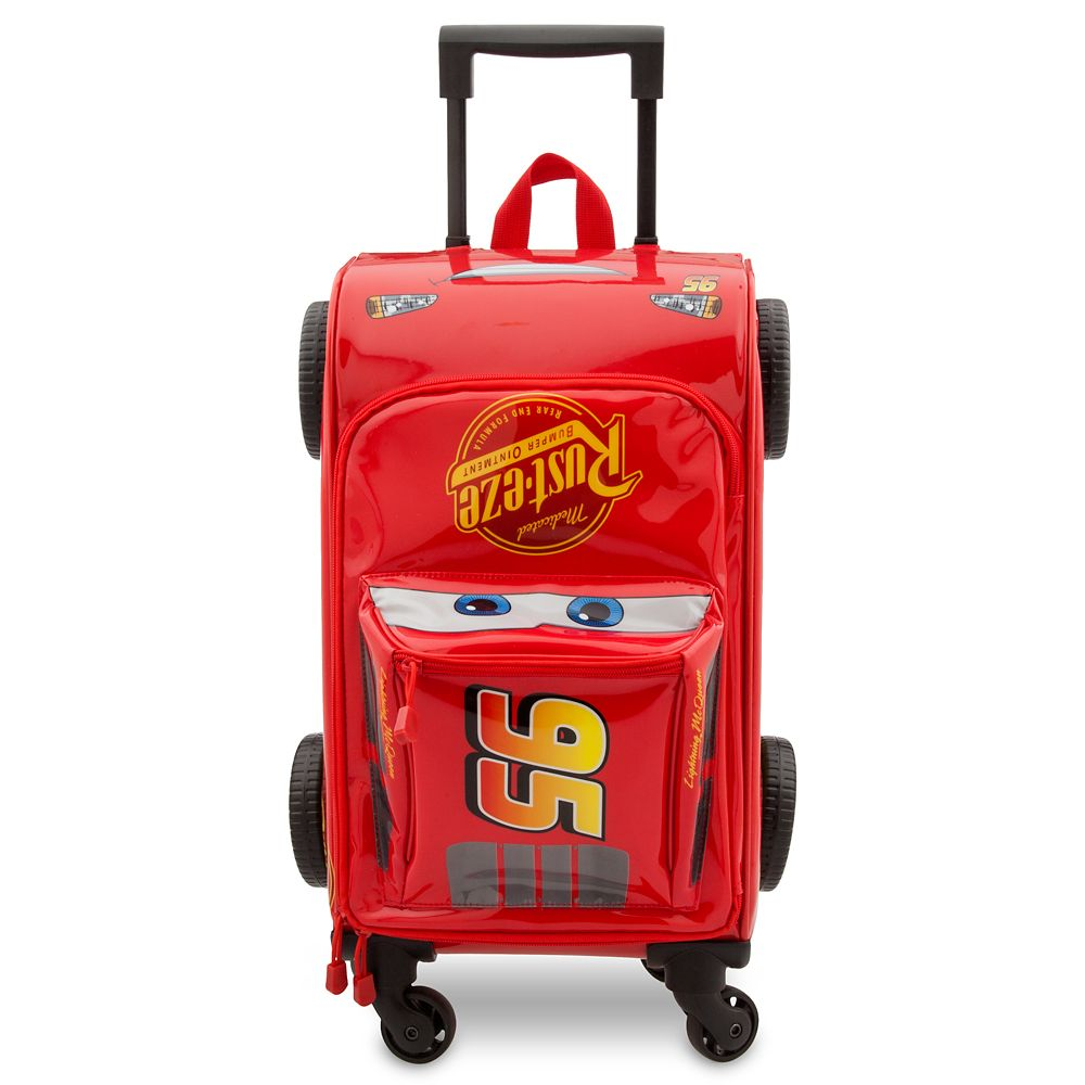 Lightning McQueen Rolling Luggage – Cars 3