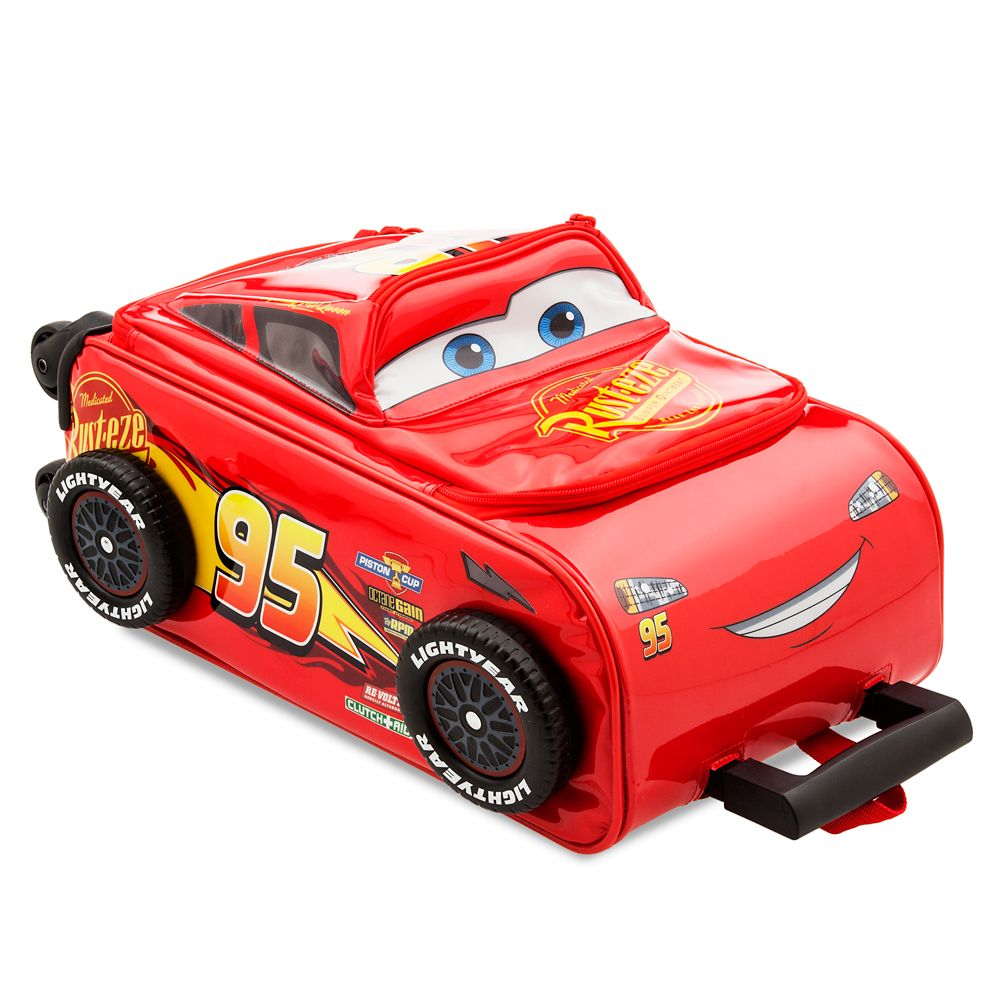 Lightning Mcqueen Rolling Luggage Cars 3 Shopdisney