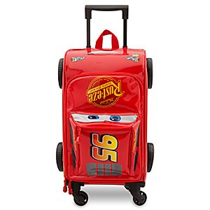 Lightning McQueen Rolling Luggage - Cars 3