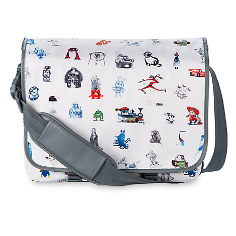Pixar Print Messenger Bag