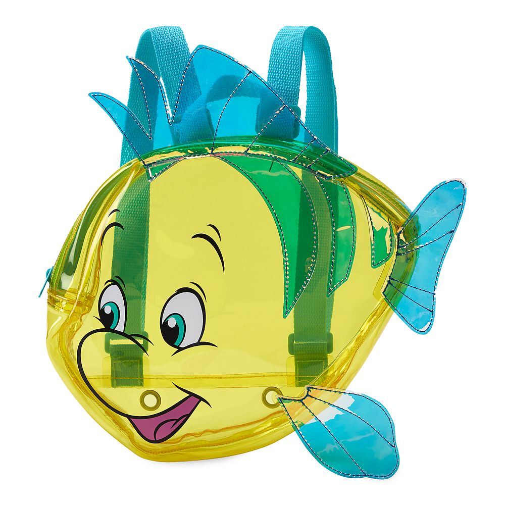 Flounder Swim Bag for Kids - Little Mermaid