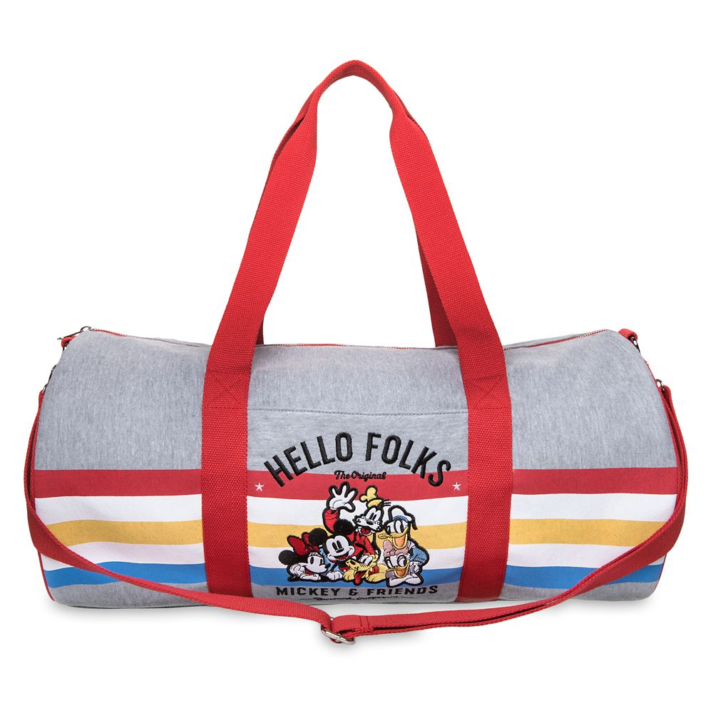 Mickey Mouse and Friends Duffel Bag Official shopDisney