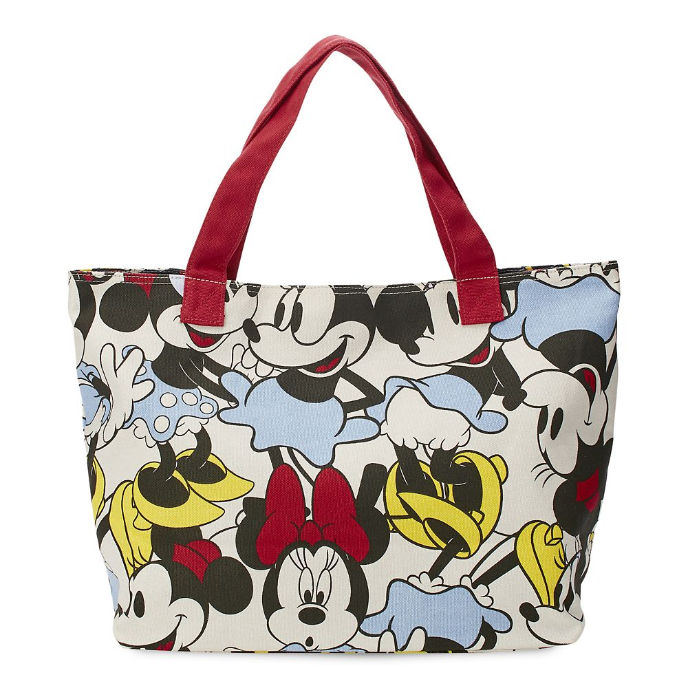 Minnie Mouse Canvas Tote Bag