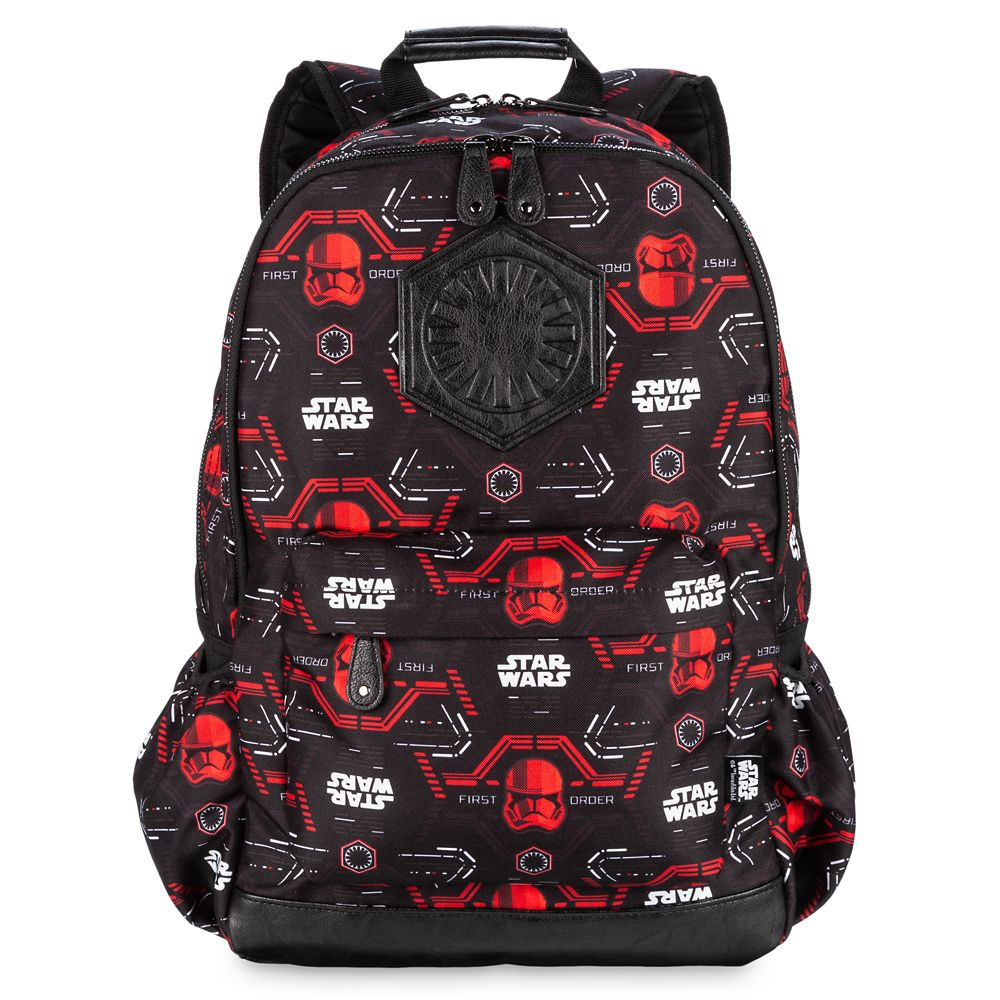 Best Star Wars Gift Ideas featured by top US Disney blogger, Marcie and the Mouse: The First Order Backpack Star Wars: The Rise of Skywalker Official shopDisney