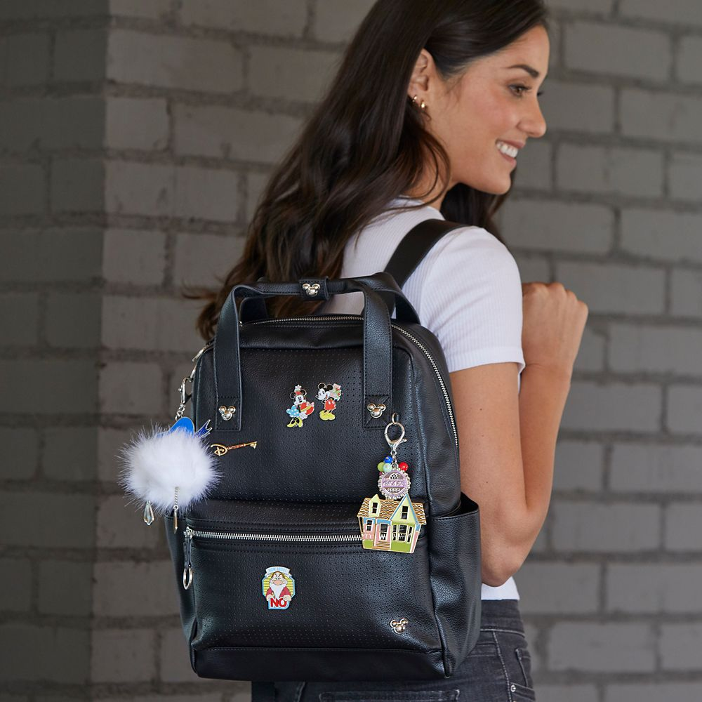 Mickey Mouse Backpack for Women – Black