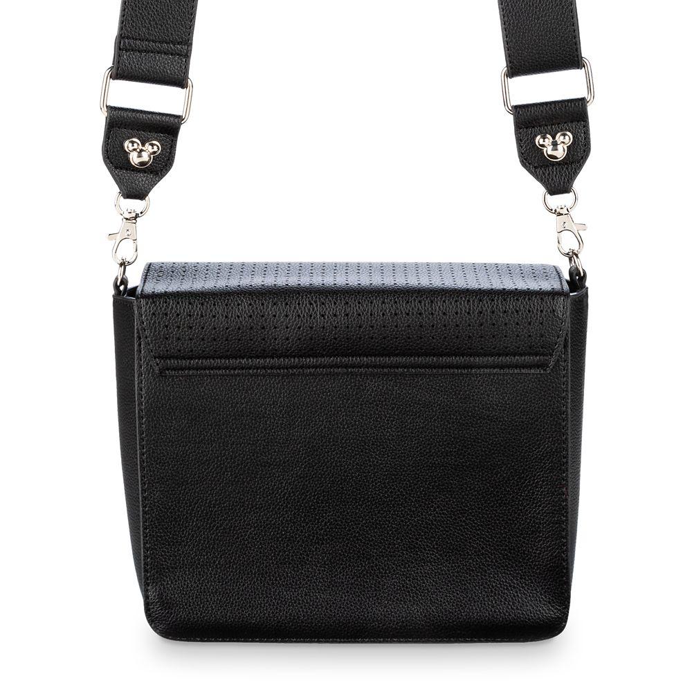 Mickey Mouse Icon Square Crossbody Bag – Black