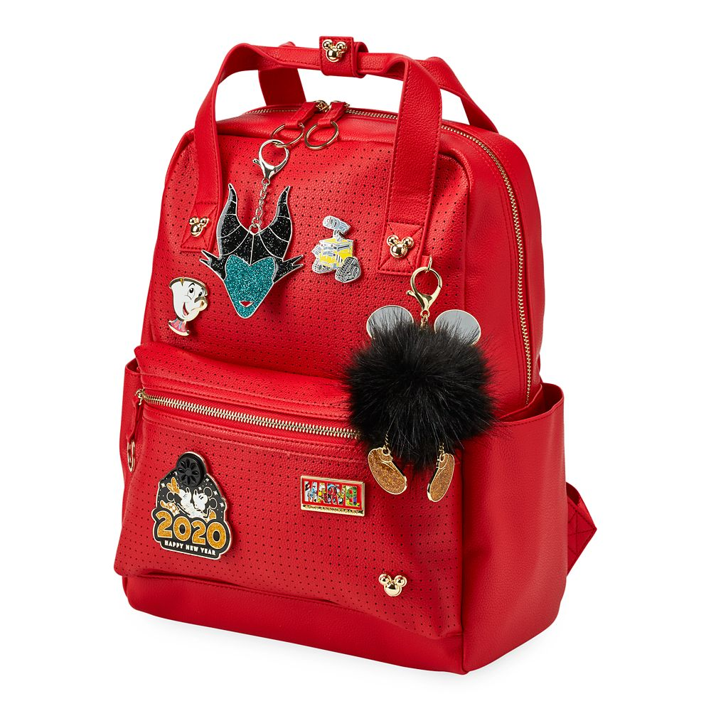 Mickey Mouse Backpack for Women – Red