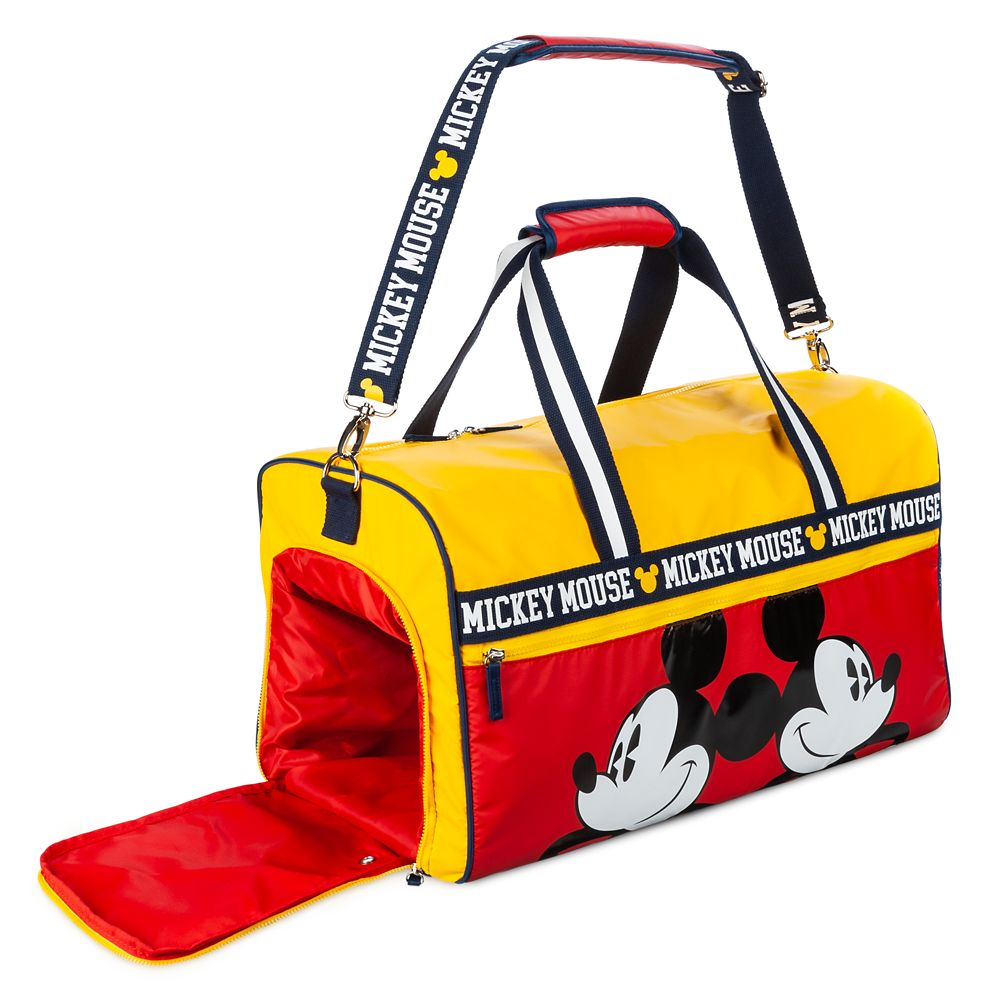 Mickey Mouse Collegiate Duffle Bag