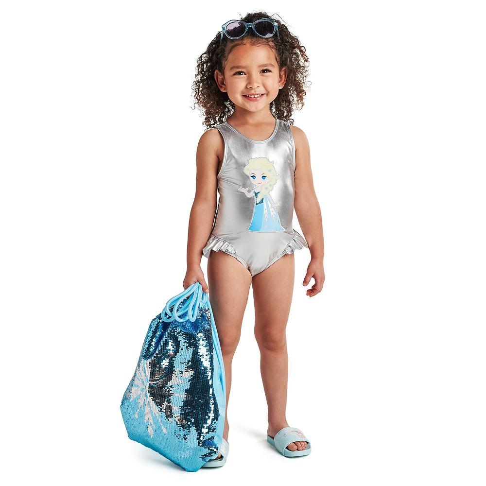 Frozen 2 Reversible Sequin Swim Bag