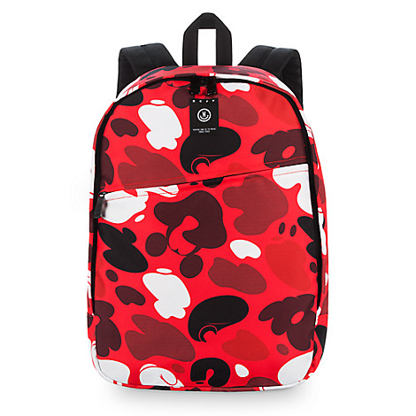 Mickey Mouse Camouflage Backpack by Neff