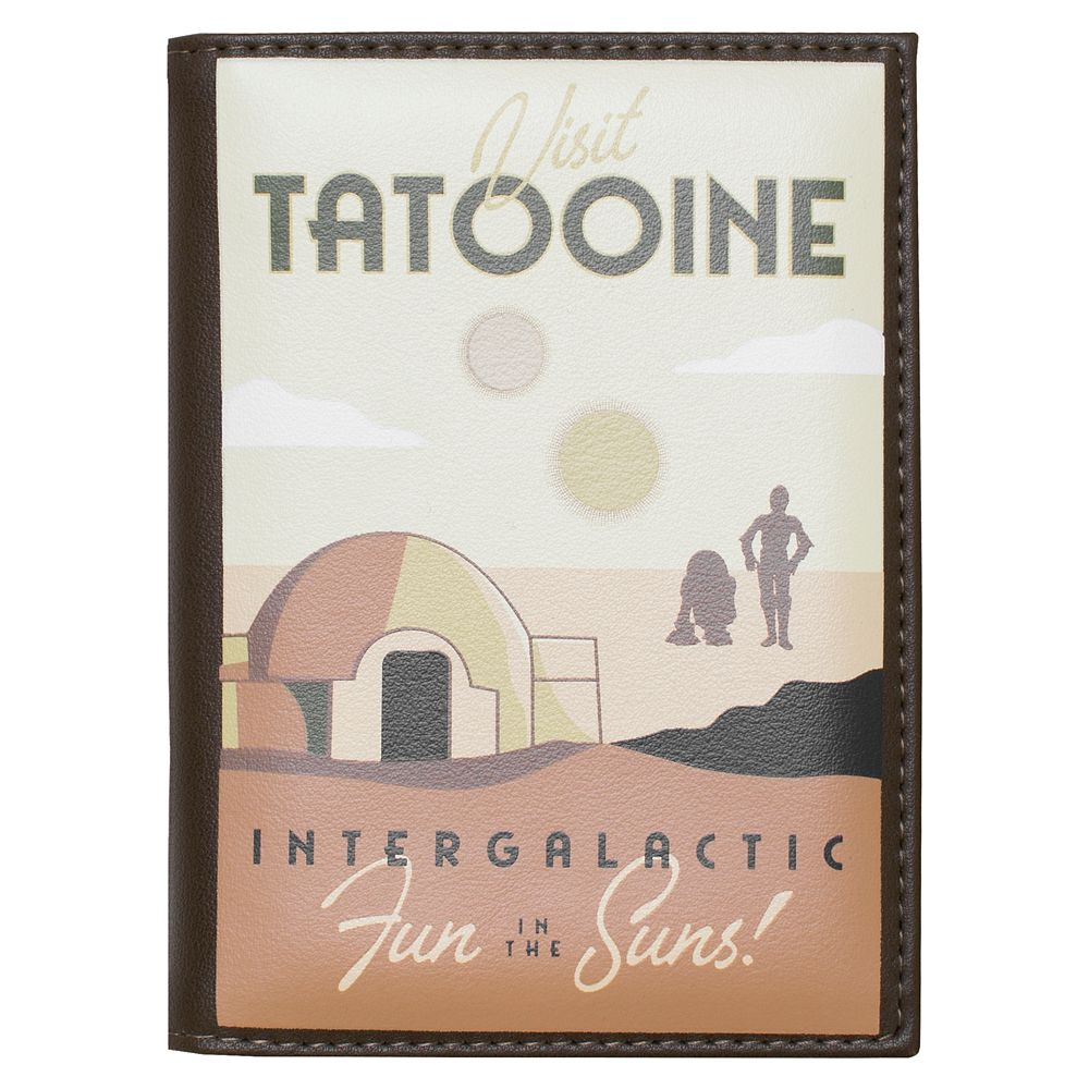 Star Wars Tatooine Passport Holder by Cakeworthy