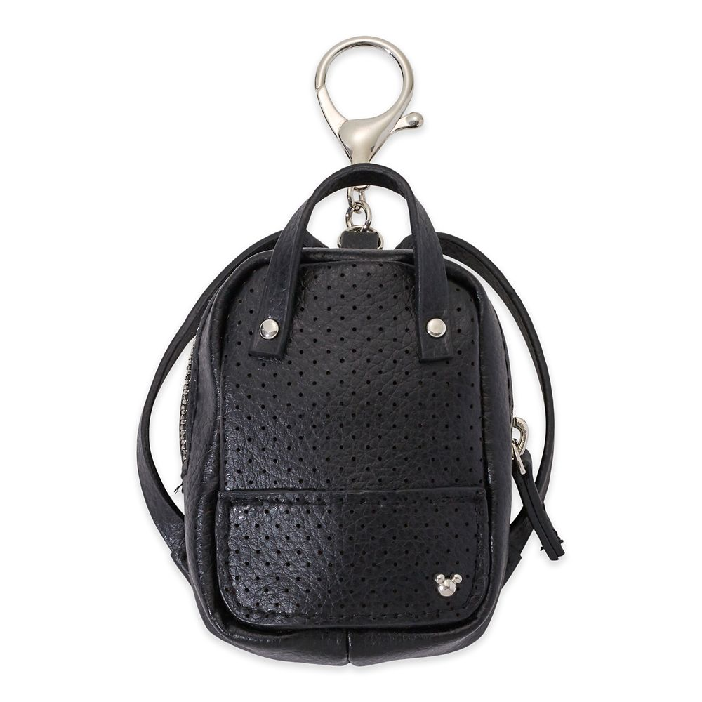 Mickey Mouse Miniature Backpack Bag Charm – Black