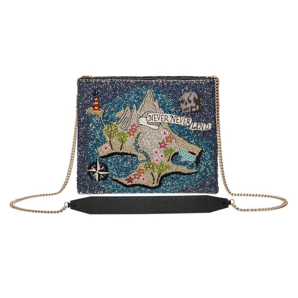 Never Land Map Beaded Handbag by Mary Frances – Peter Pan