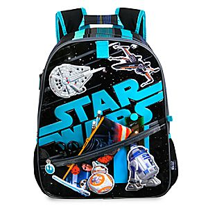 Disney Store Star Wars Backpack  -  Personalizable
