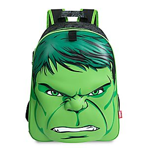 Disney Store Avengers Backpack  -  Hulk  -  Personalizable