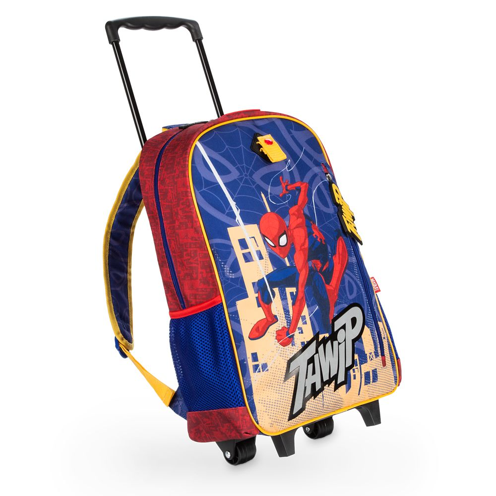 Spider-Man Rolling Backpack – Personalizable