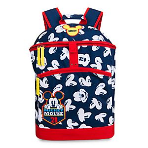 Disney Store Mickey Mouse Backpack  -  Personalizable