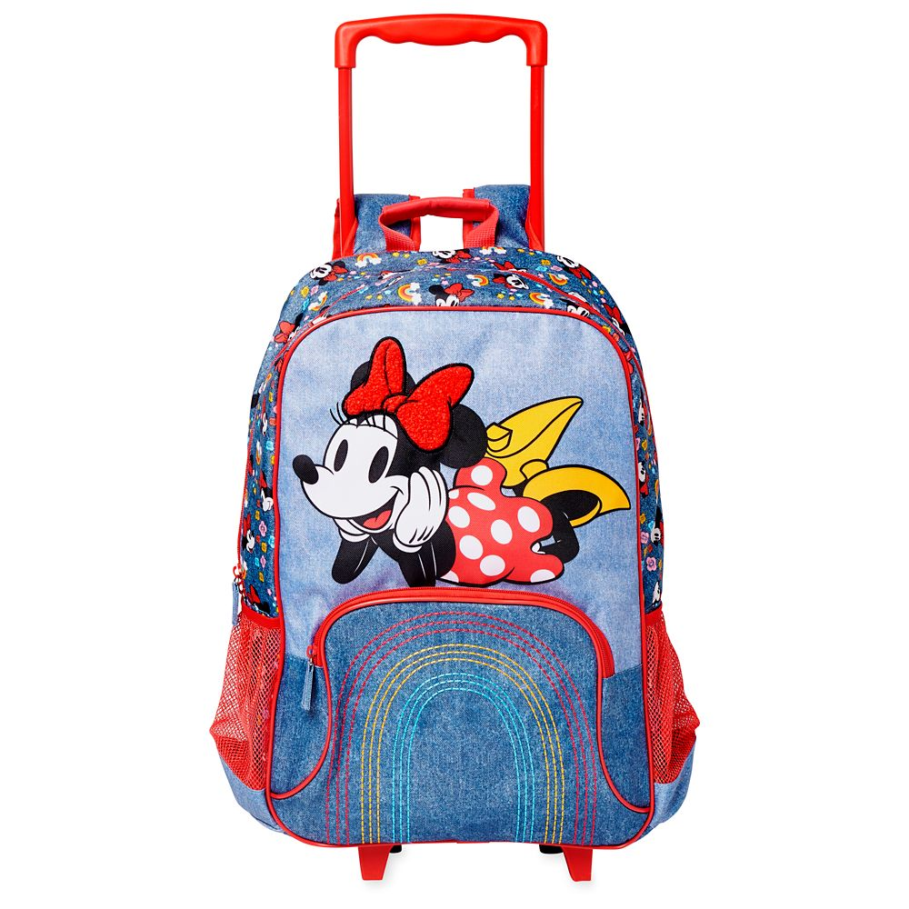 Minnie Mouse Rolling Backpack – Personalized