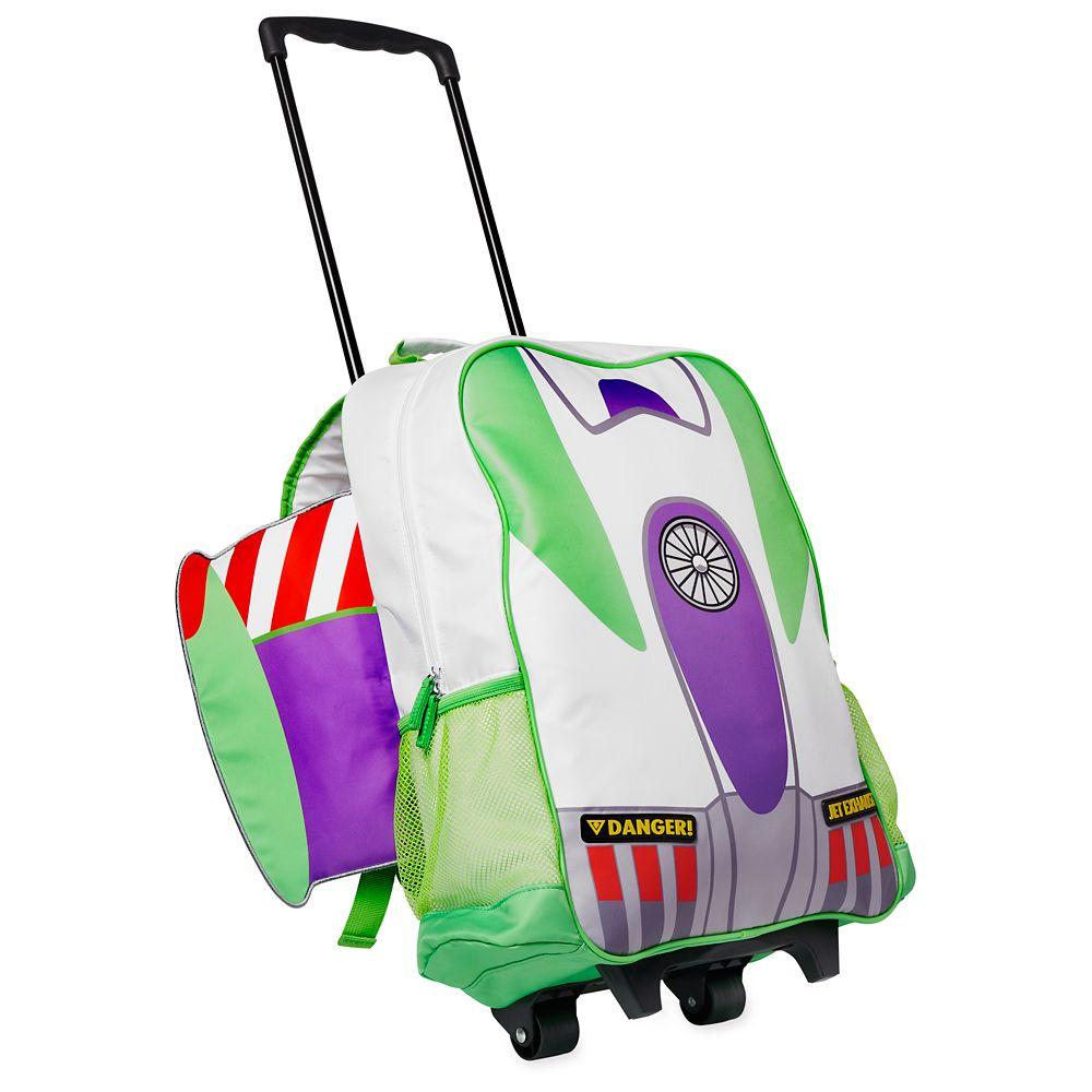 Buzz Lightyear Rolling Backpack – Personalized