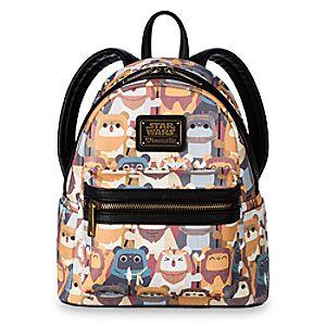 3fbbd2baca1 Ewok Mini Backpack by Loungefly – Star Wars Price   49.95