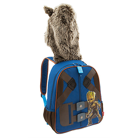Rocket Raccoon Hooded Backpack for Kids - Guardians of the Galaxy Vol. 2 - Personalizable
