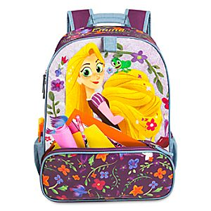 Disney Store Rapunzel Backpack  -  Tangled: The Series  -  Personalizable