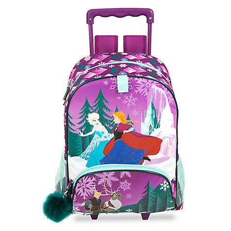 Frozen Rolling Backpack - Personalizable