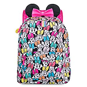 537d89aa5c3 Minnie Mouse Rainbow Backpack - Personalizable ...