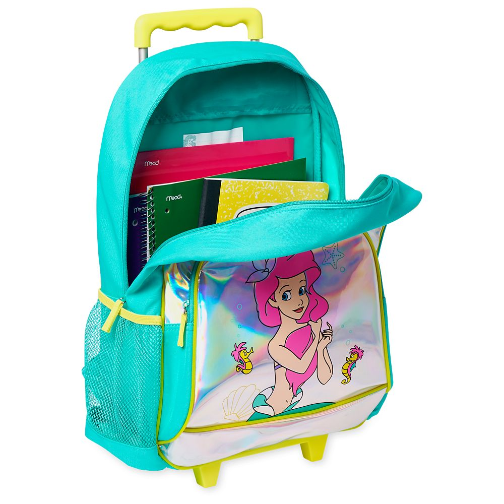 The Little Mermaid Rolling Backpack – Personalized