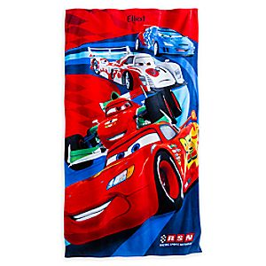 Cars Beach Towel - Personalizable