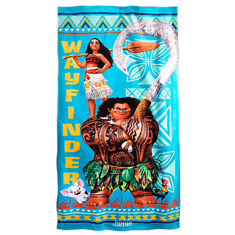 Disney Moana Beach Towel - Personalizable