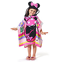 Minnie Mouse Hooded Towel for Kids - Personalizable