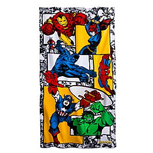 Marvel's Avengers Beach Towel - Personalizable