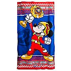 Mickey Mouse Beach Towel - Mickey and the Roadster Racers - Personalizable