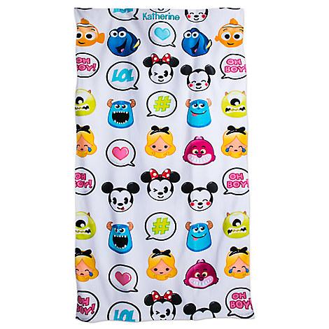 Disney Emoji Beach Towel