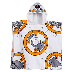 BB-8 Hooded Towel for Kids - Star Wars