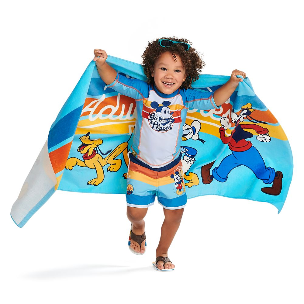 Mickey Mouse and Friends Beach Towel – Personalizable