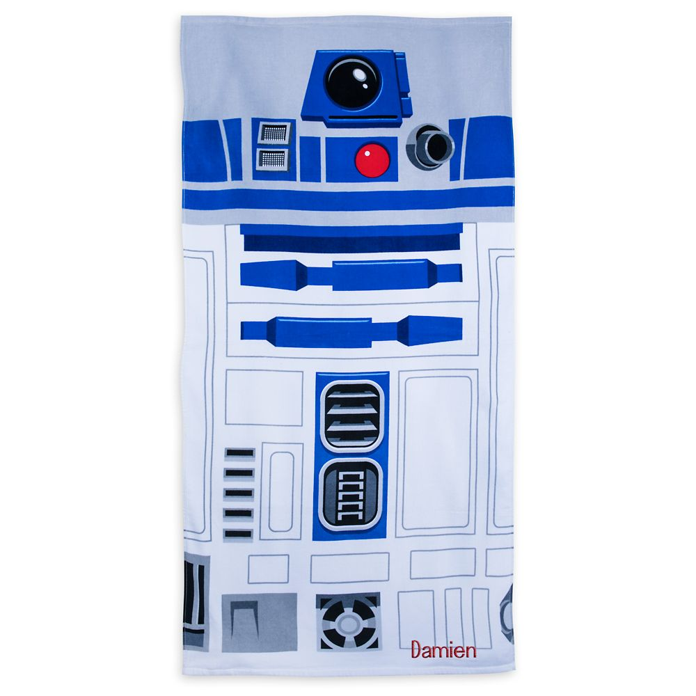 R2-D2 Beach Towel – Personalizable