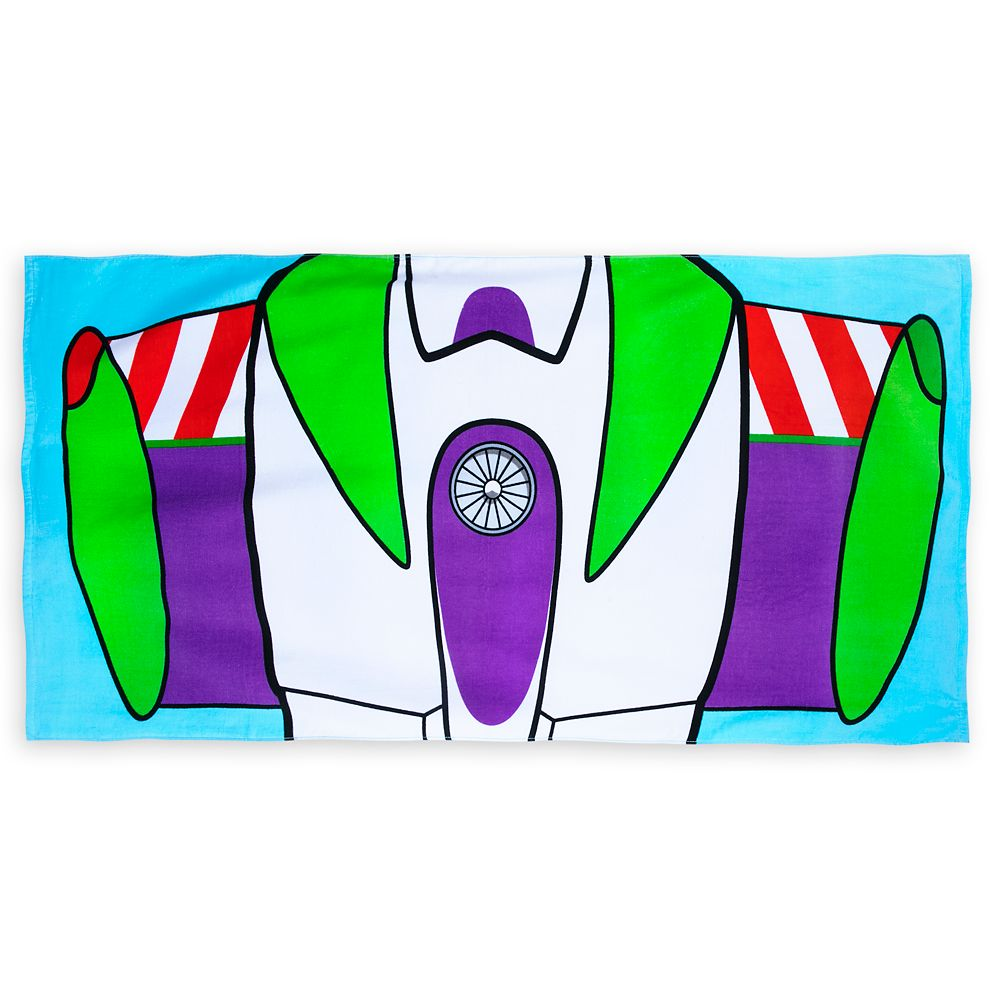 Buzz Lightyear Beach Towel – Toy Story – Personalized